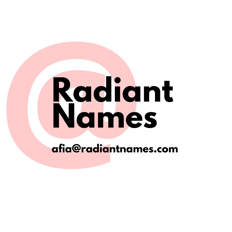 Radiant Names